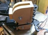 Fabrication d'une presse à eclisses